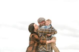 Group hug for the Keen family