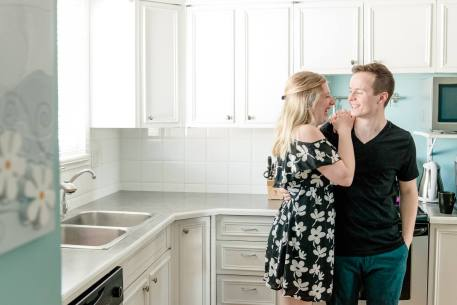 Regina Family Photographer - Brian & Jacey Kitchen