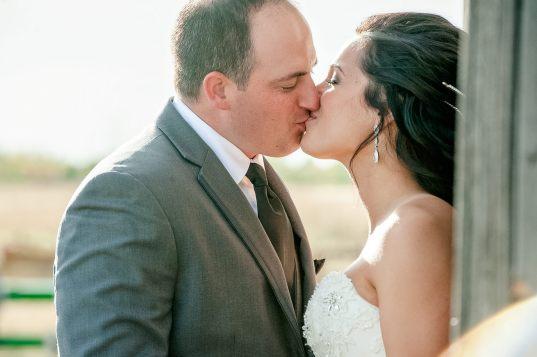 Regina Wedding Photographer - Adam & Vicki - Kiss