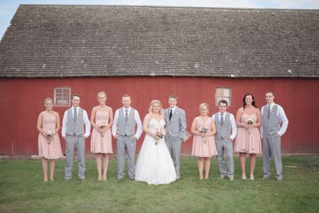 Regina Wedding Photographer - Stephen & Sara - Bridal Party