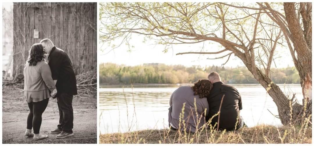 Regina Engagement Photographer - Scott-Ashley - Regina Rowing Club