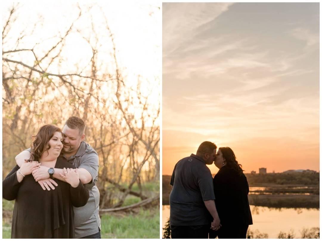 Regina Engagement Photography - Scott-Ashley - Douglas Park - Sunset
