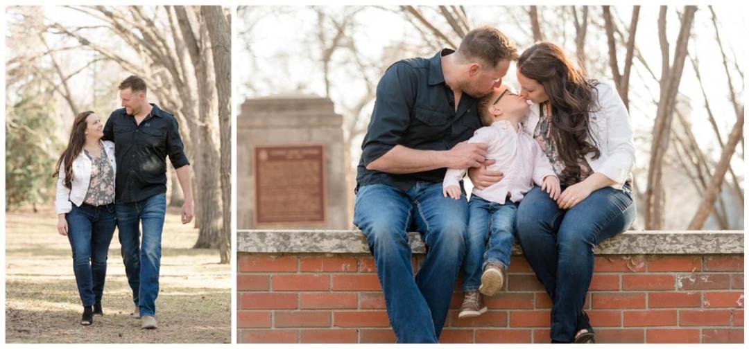 Travis & Coralynn Regina Engagement Session- Engagement session at Wascana Park