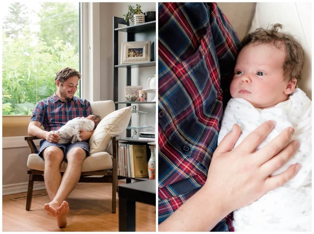 Regina Family Photographer - Joel-Heidi- In-home family session