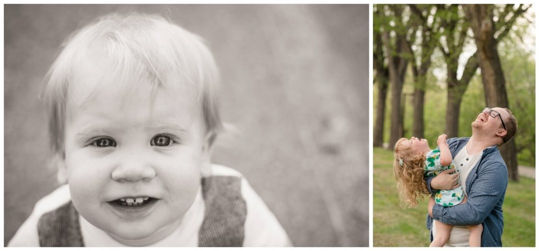 Regina Family Photographer - Oliver is One - Rotary Park - Wascana Park