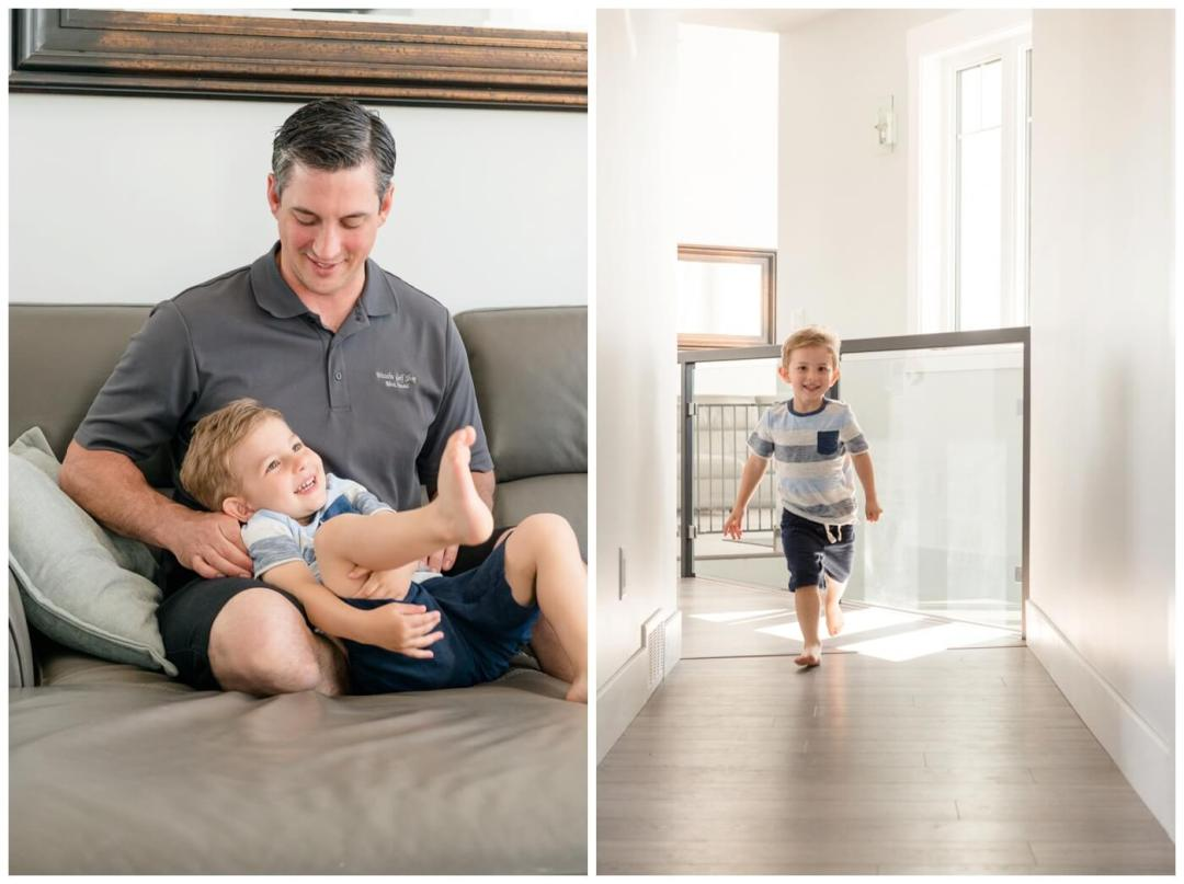 Regina Family Photographer - Tyler-Miller - busy two year old