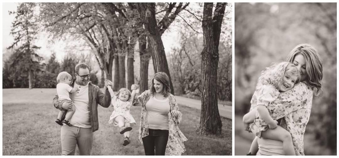 Regina Family Photography - Amy - Oliver Carlen - Evelyn - Rotary Park - Wascana Park
