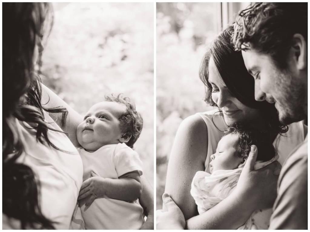 Regina Newborn Photography - Heidi-Heather - Black & White Photography