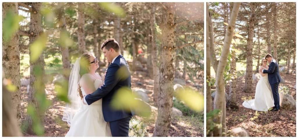 Regina Wedding Photography - Luke-Tori - Pine Trees