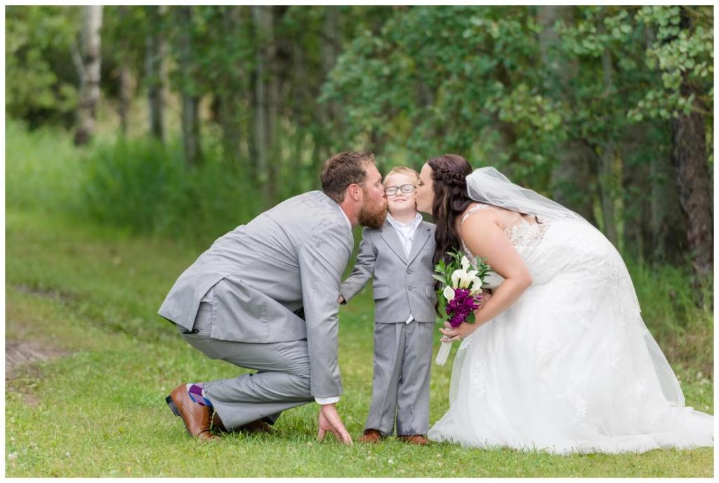 Regina Wedding Photographer - Travis-Coralynn - Porcupine Plain - Kisses for Lincoln