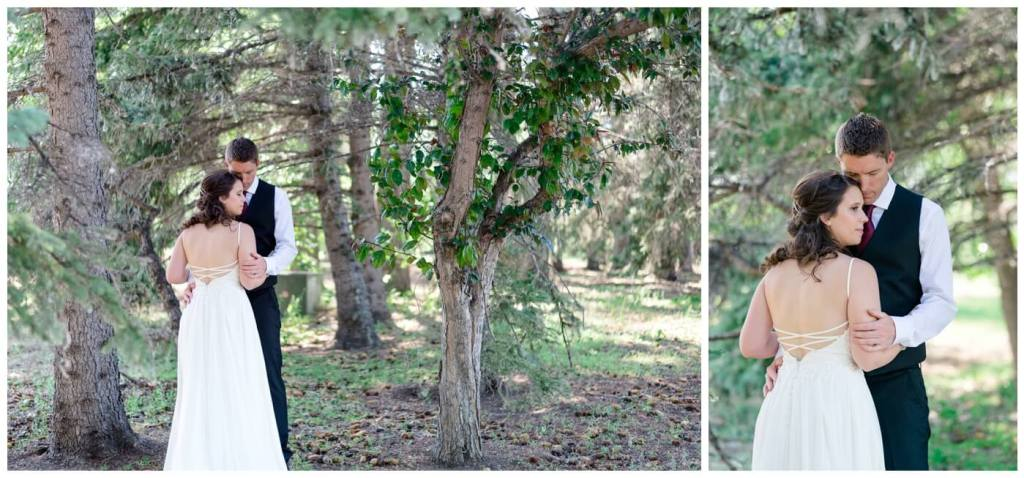 Regina Wedding Photography - Cory-Kelsey - In the Forest