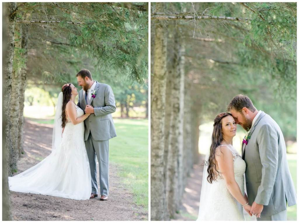 Regina Wedding Photography - Travis-Coralynn - Porcupine Plain - Pine Trees