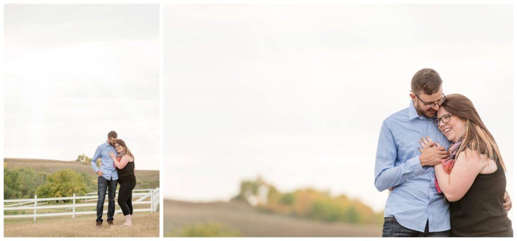 Regina Engagement Photography - Allie-Nathan - Valley Engagement