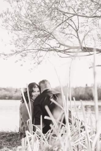 Scott & Ashley - Engagement Session by Wascana Lake in Regina