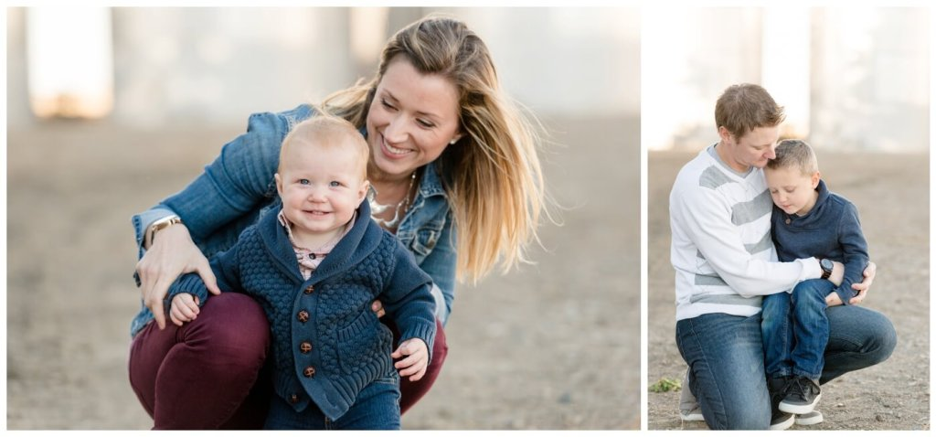 Regina Family Photography - Neufeld Family - Mike-Tamzyn-Lucas-Ephraim - Fall Family Session - Farmyard - Waldheim