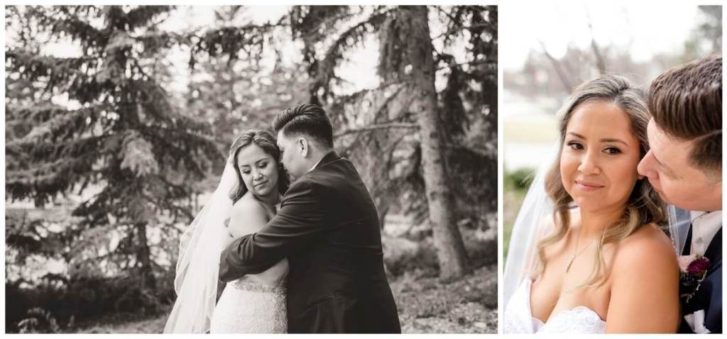 Regina Wedding Photographers - Laurie - Destiny - Fall Wedding - MacKenzie Art Gallery - First Snow - Bride & Groom Creatives