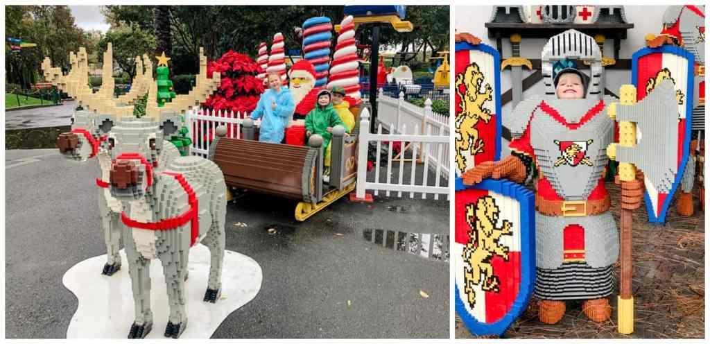 Regina Family Photography - Legoland California - Liske Family Travels - Lego Santa - Lego Knights