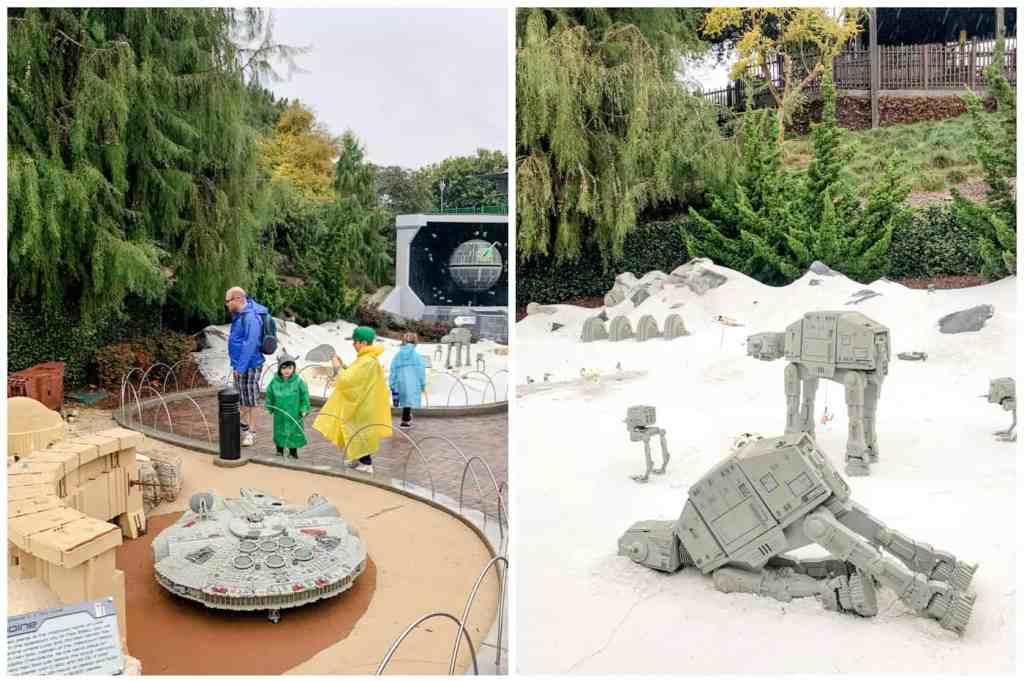 Regina Family Photography - Legoland California - Liske Family Travels - Lego Star Wars - Hoth - ATAT Walker