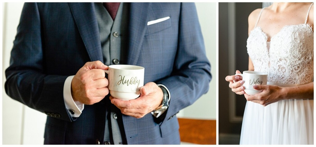Scott & Keely - Regina Wedding - Hubby & Wifey Mugs