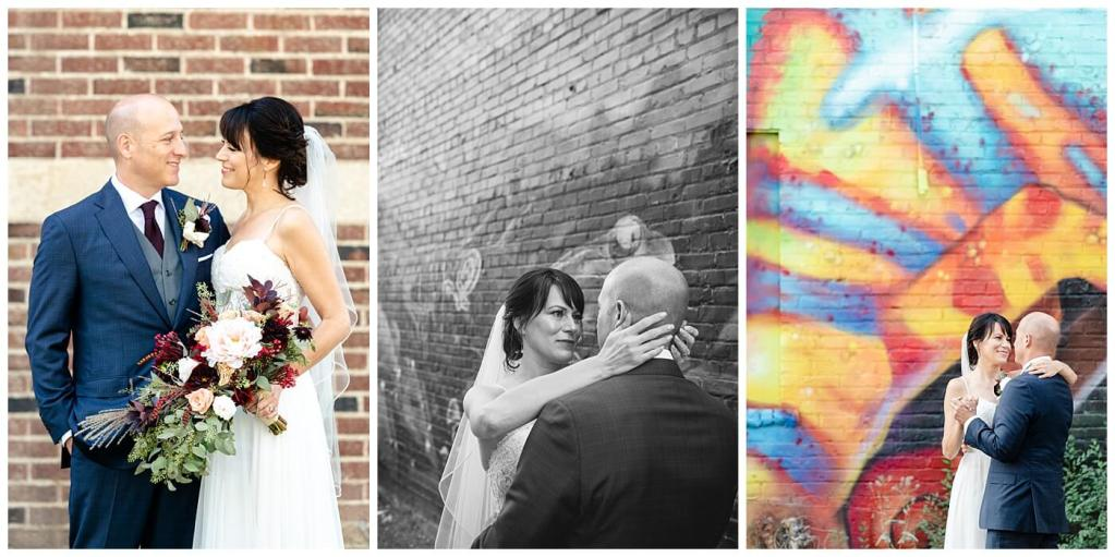 Scott & Keely - Regina Wedding - Mural Walls
