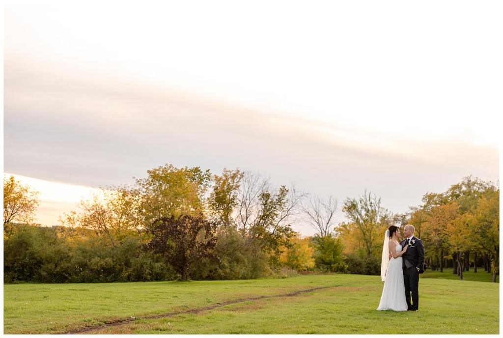 Scott & Keely - Regina Wedding - Sunset in Wascana