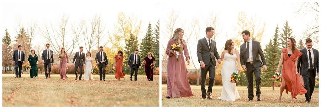 Regina Wedding Photographer - Tim & Jennelle At Home Wedding - Arlington Park with bridal party