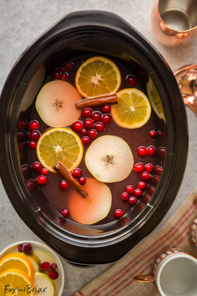 Cranberry Pear Cider