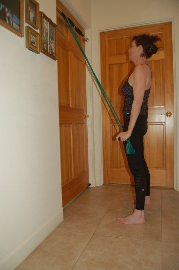 resistance band tricep 1