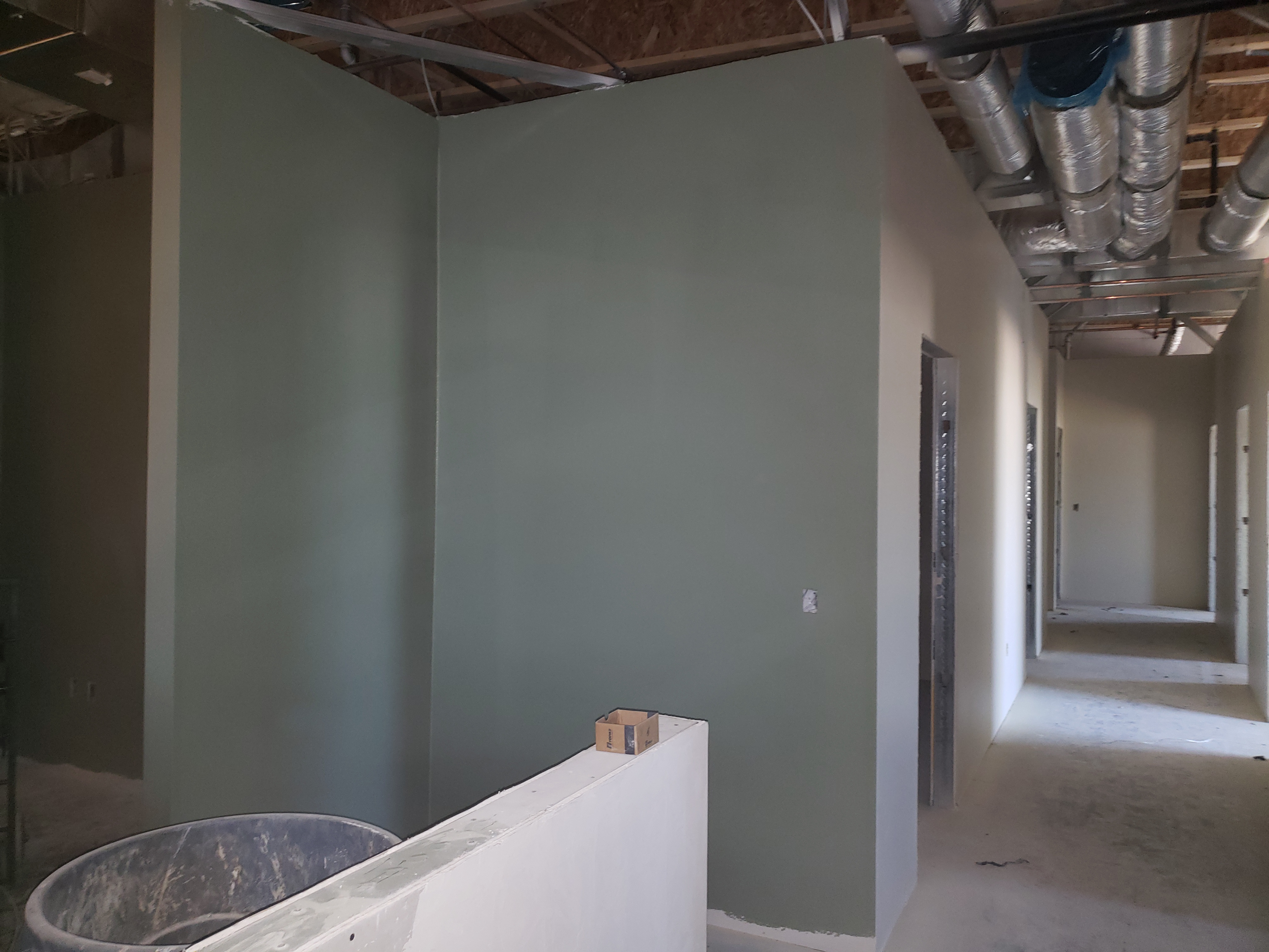 Inside of the new Courtney Medical Group