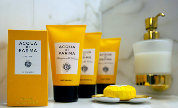 Aqua di Parma bath products