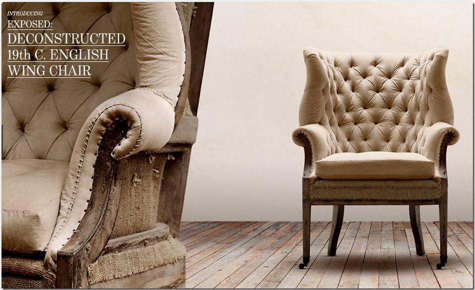 Restoration Hardware New Furniture Line