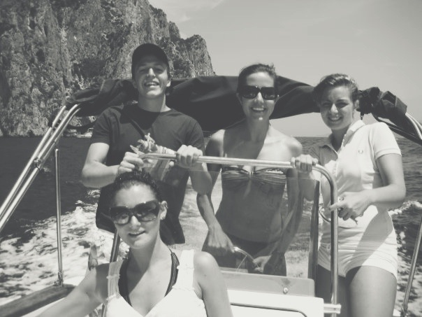 Capri Self Driven Boat - Courtney Scott