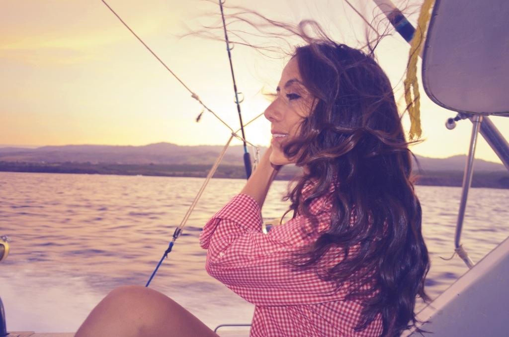 Courtney Scott Sunrise Boat Kauai