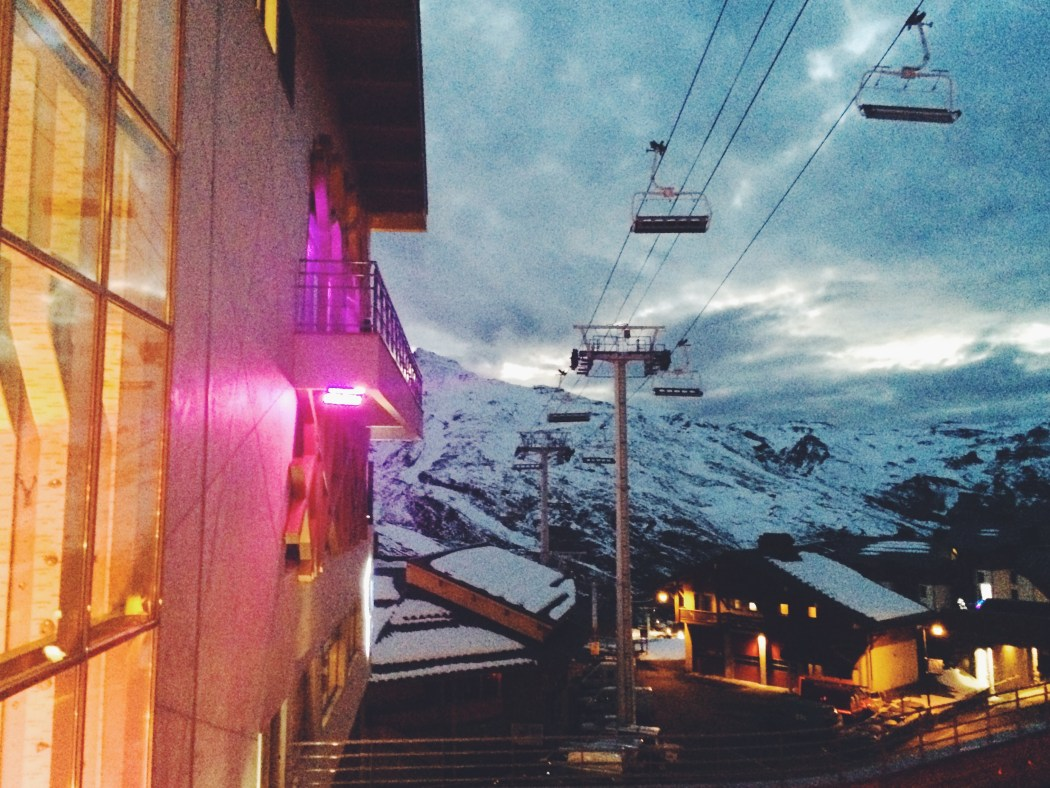 Club Med Val Thorens Night