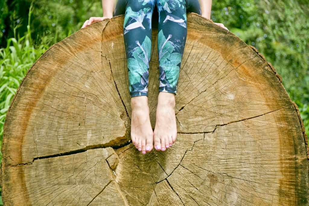 Manoa Falls Harvest Yoga Pants