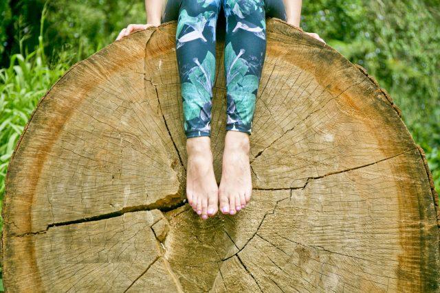 Manoa Falls Harvest Yoga Pants