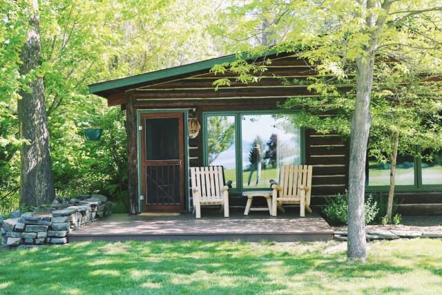 Cabin 11 at Flathead Lake Lodge Montana