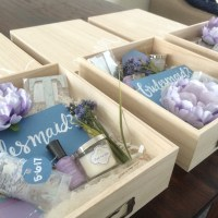 DIY Bridesmaid Boxes