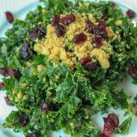 - Delicious Kale Salad-