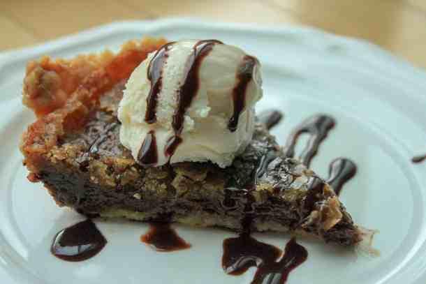 vegan chocolate chip pie
