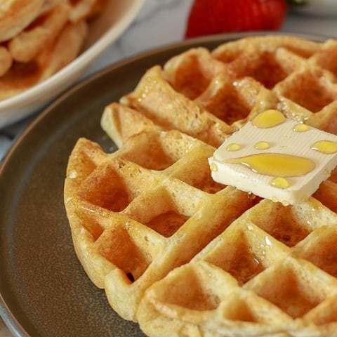 -Amazing Vegan Waffles-