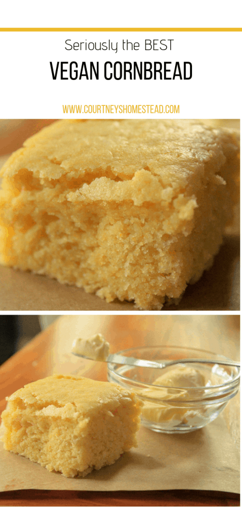 Seriously the BEST Vegan Cornbread