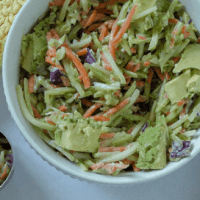 Vegan Broccoli Slaw