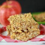 Vegan Apple Cinnamon Granola Bar