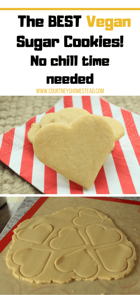 The BEST vegan Sugar Cookies!