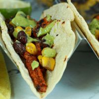 Awesome vegan tacos