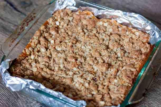cooked pumpkin pie bars