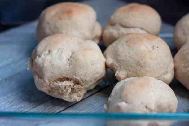 quick vegan dinner rolls