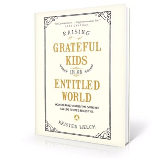 Teach Them to Give {A Book Review: Raising Grateful Kids in an Entitled World}