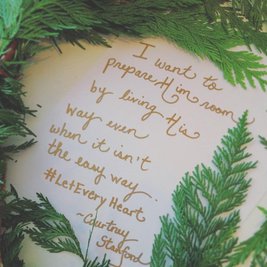 Forgiveness: A Way to Prepare Him Room this Christmas